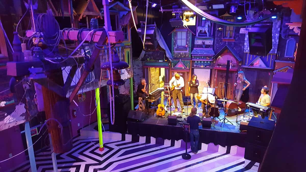 Meow Wolf Stage