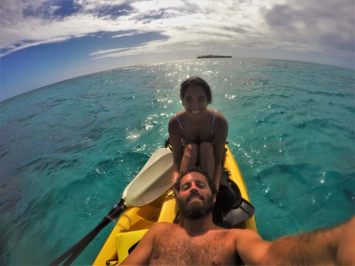 Kayak Slefie
