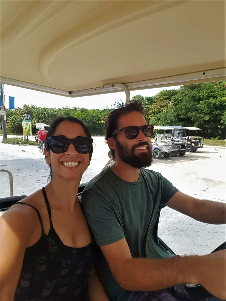 Golf Carting in San Pedro