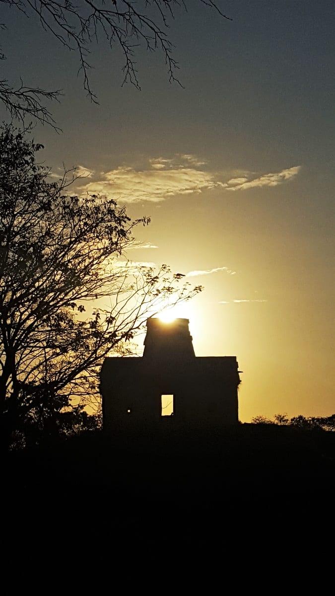 Dzibilchaltun Sunrise