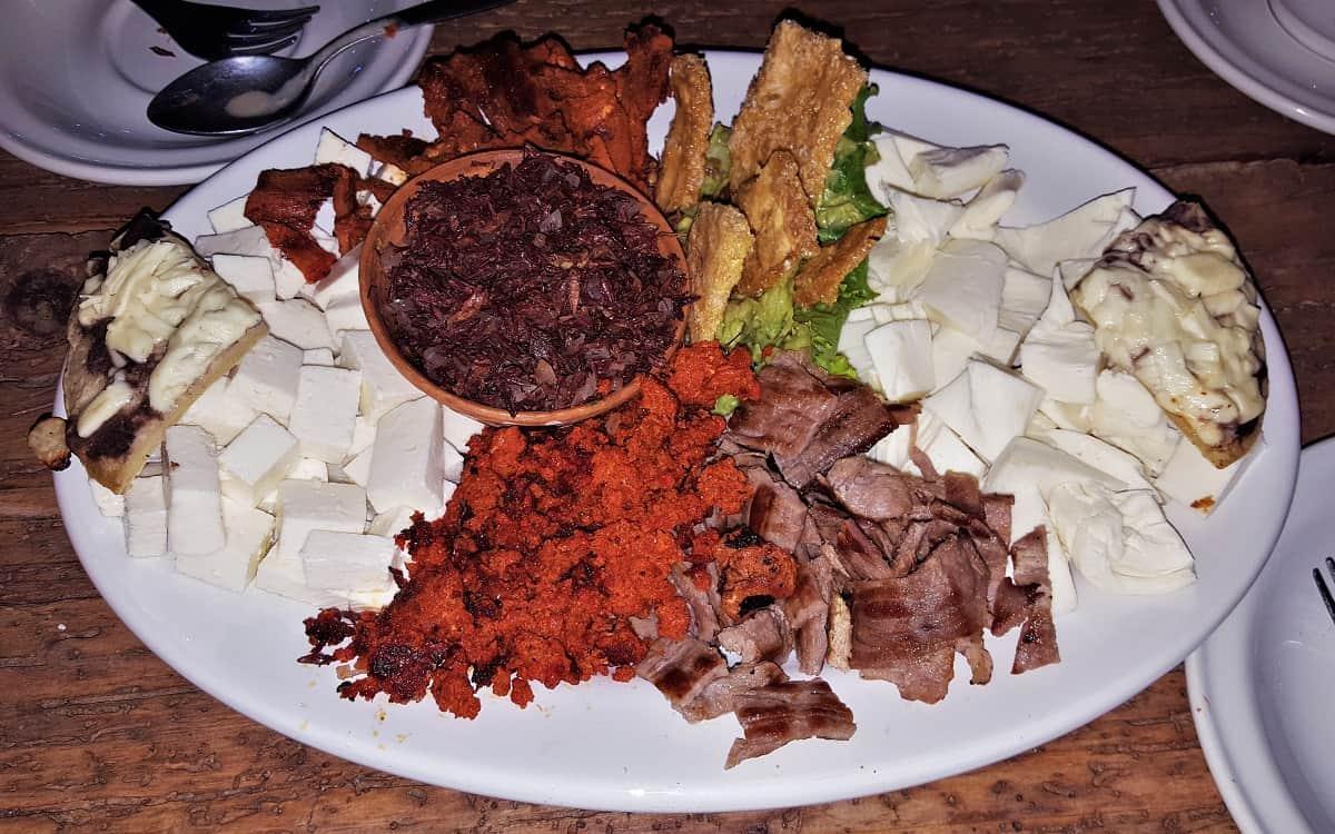Oaxaca Sample Platter
