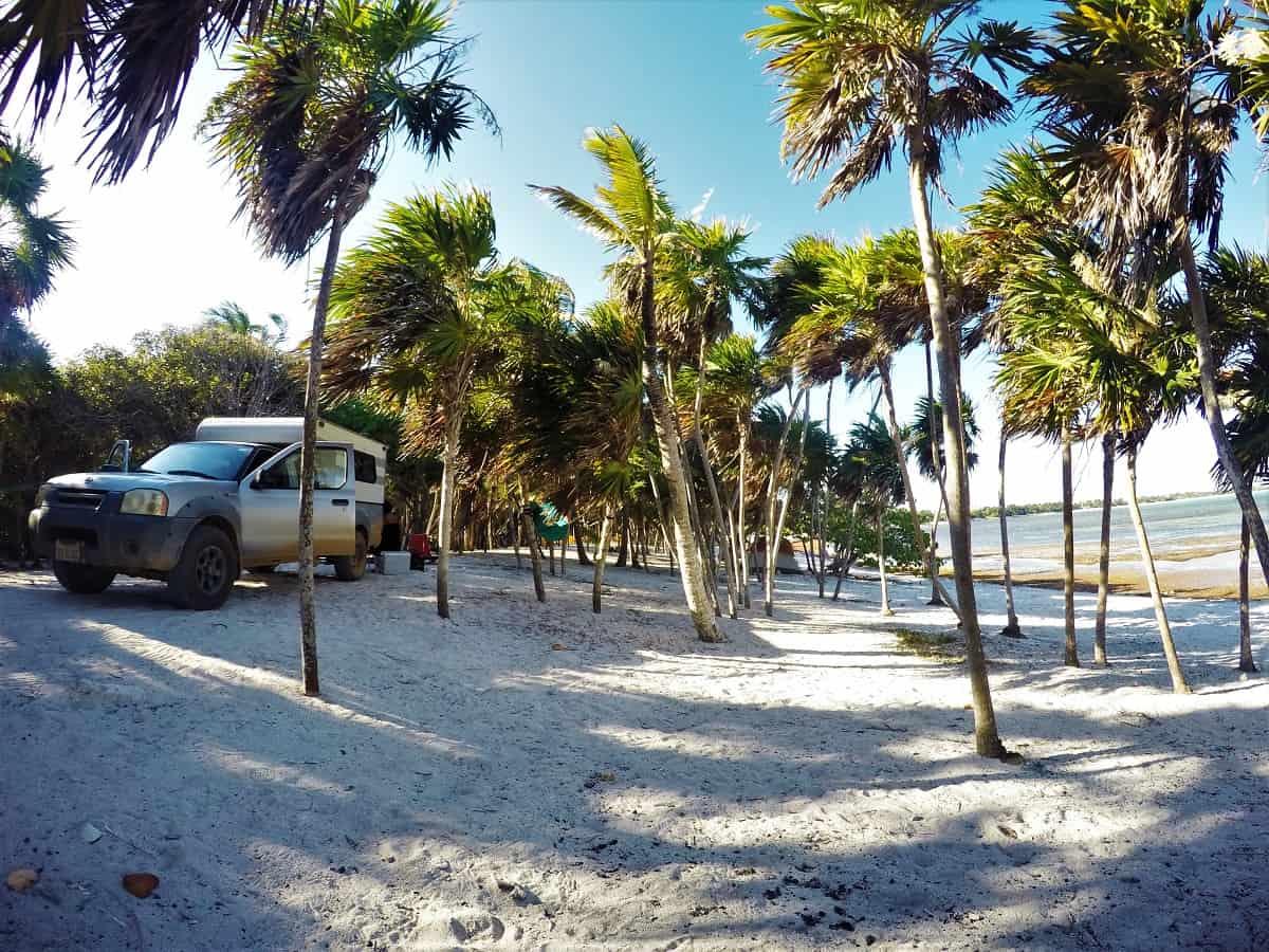Beach Camping Tulum