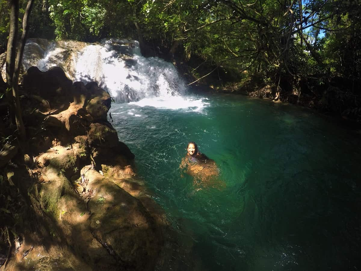 Agua Azul Swimming Hole