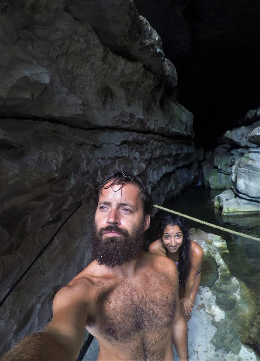 El Chorreadero Falls - Tuxtla