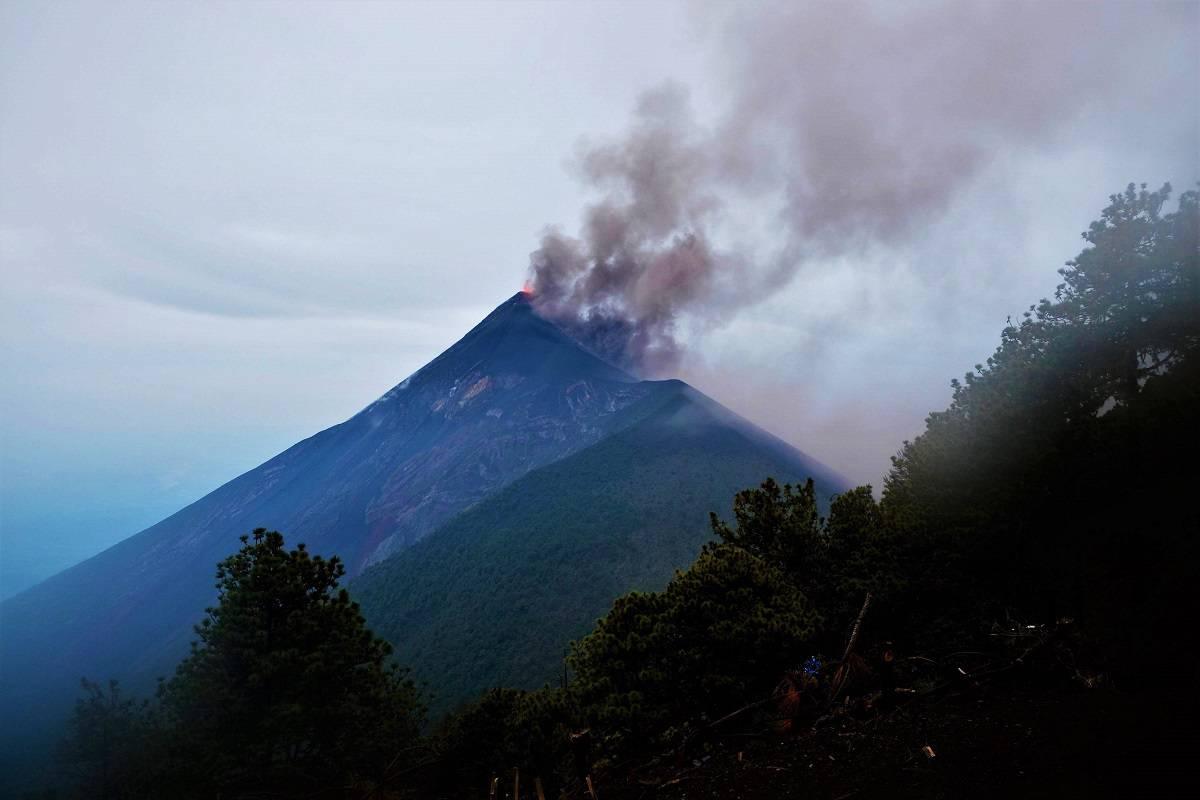 Fuego's Big Eruption