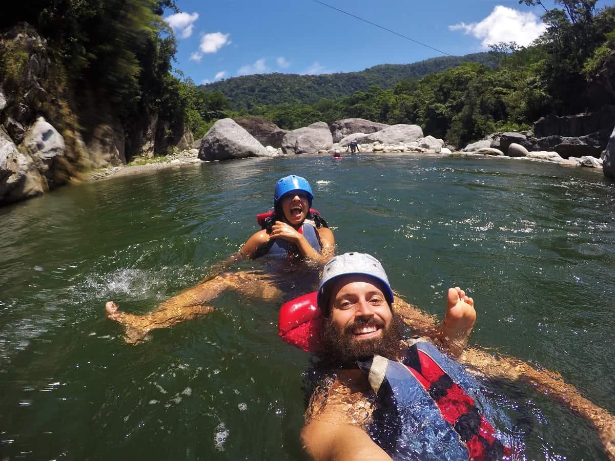 Rio Cangrejal Canyoning