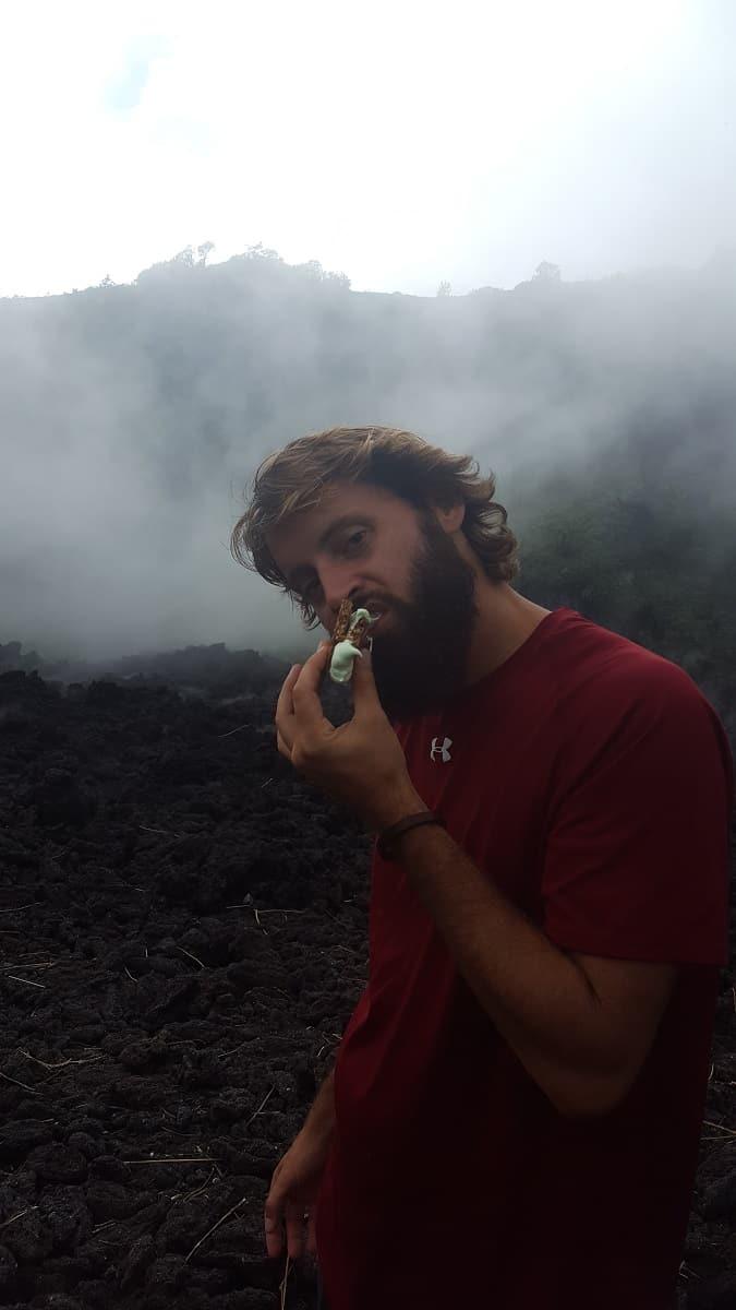 Volcano Smores