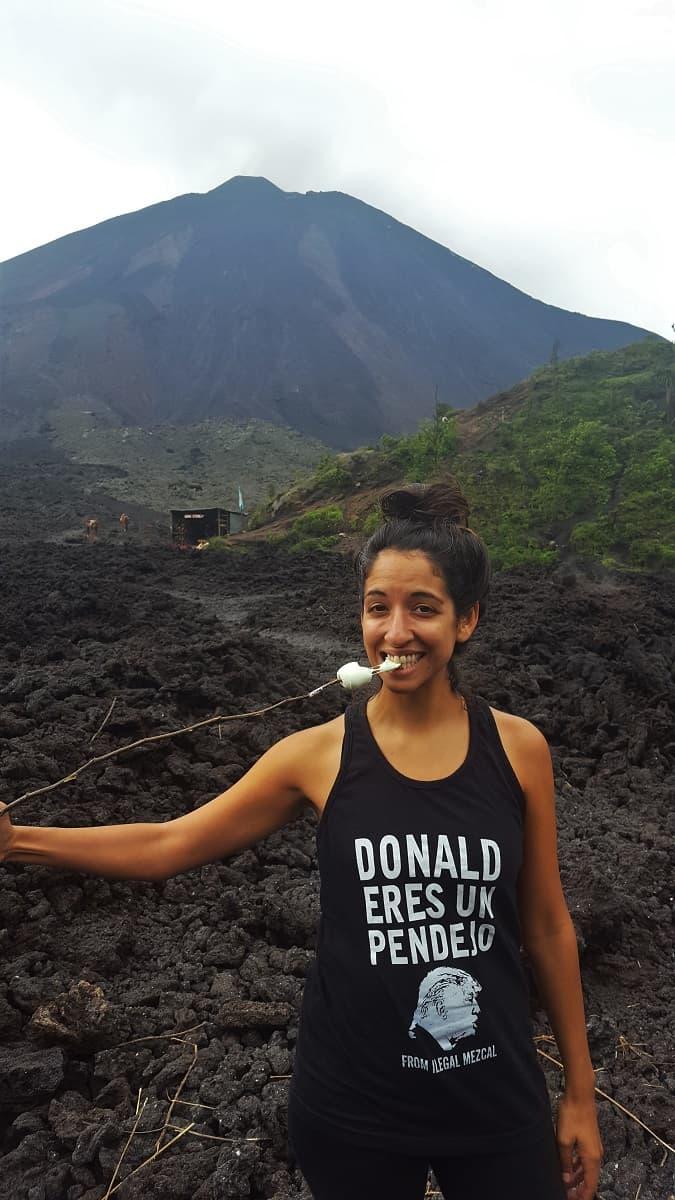 Volcano Roasted Marshmallows