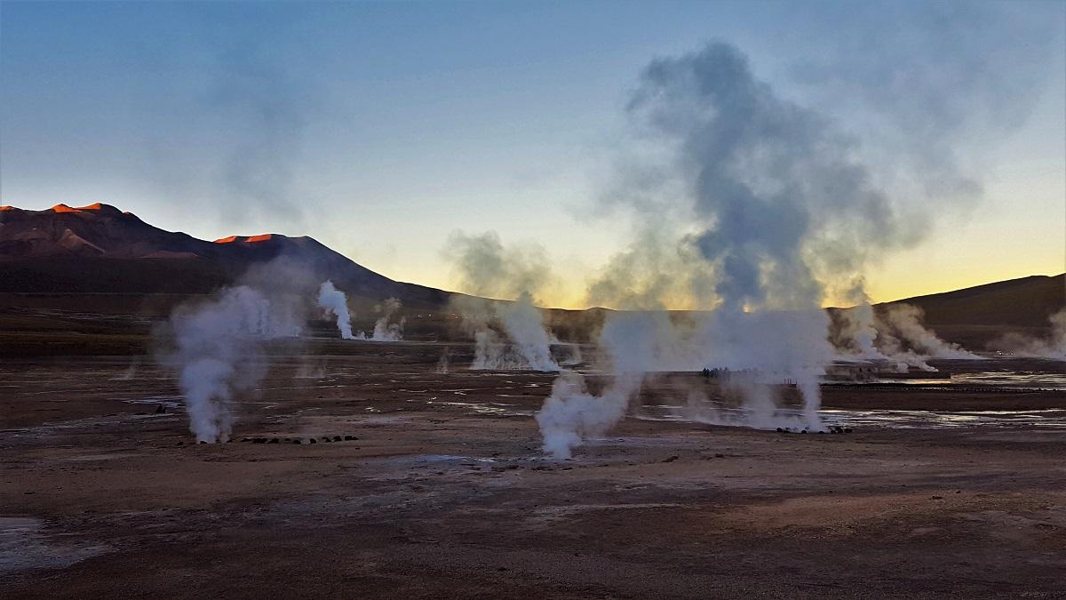 Gyser del Tatio - Atacama