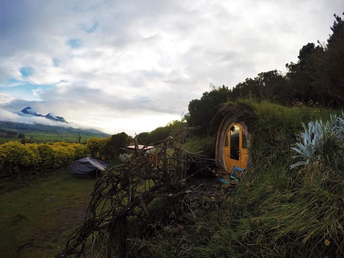 Secret Garden Hobbit Hut