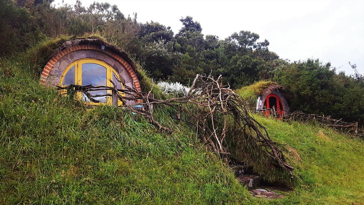 Secret Garden Hobbit Huts