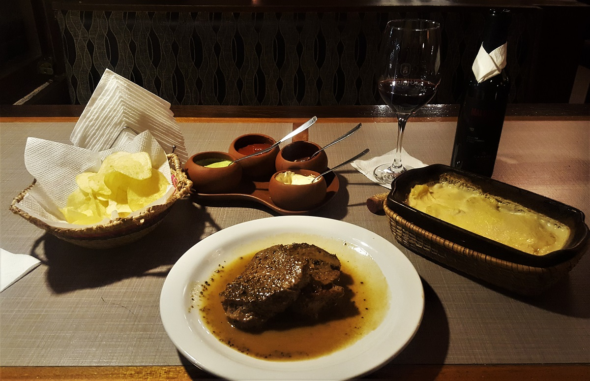 Tarija $13 Steak Dinner