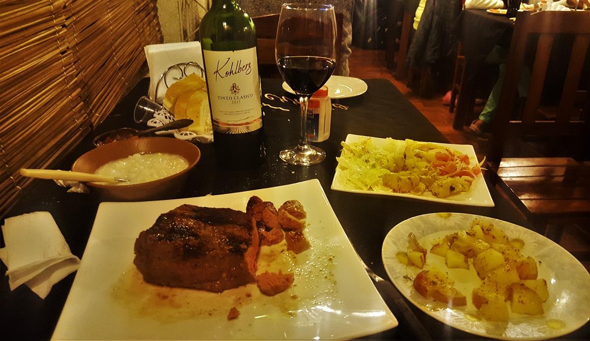 Tarija $12 Steak Dinner