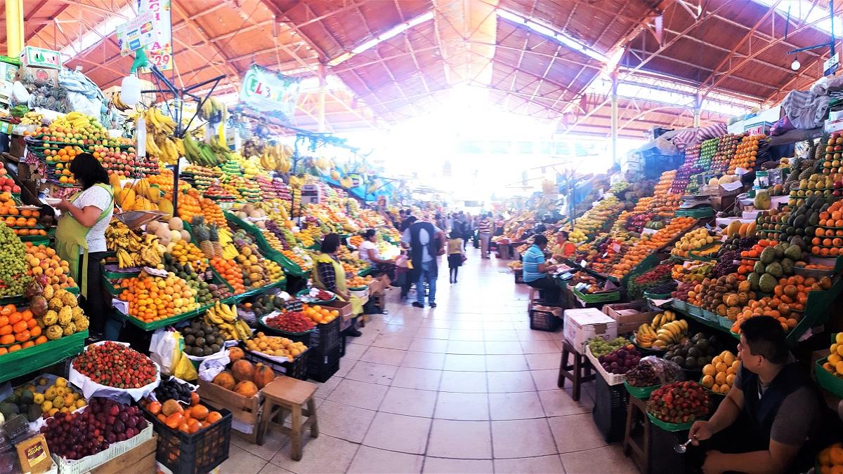 Arequipa Fruit Market
